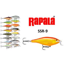 RAPALA SSR-9 SHALLOW SHAD RAP WOBBLEREK