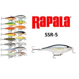 RAPALA SSR-5 SHALLOW SAD RAP WOBBLEREK