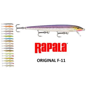 RAPALA ORIGINAL FLOATING F11 WOBBLEREK 11 CM