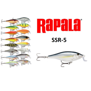 RAPALA SSR-5 SHALLOW SAD RAP WOBBLEREK