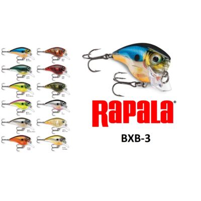 RAPALA BALSA XTREME BRAT BXB03 WOBBLEREK