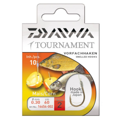 DAIWA TOURNAMENT CORN HOOK SIZE 1