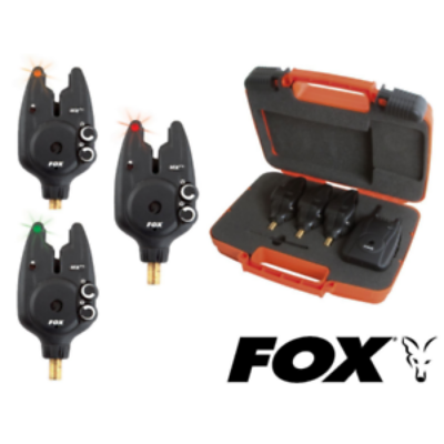 FOX MICRON MXR+ MULTI COLOUR 3 ROD SET