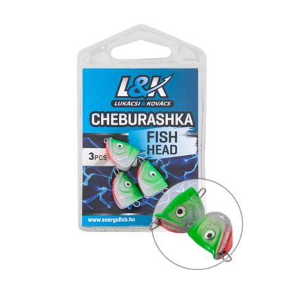 L&K CHEBURASHKA FISH HEAD 6GR