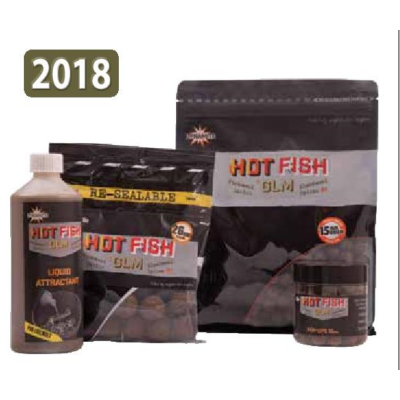 DYNAMITE BAITS BOJLI HOT FISH AND GLM 350GR 26MM DY1007