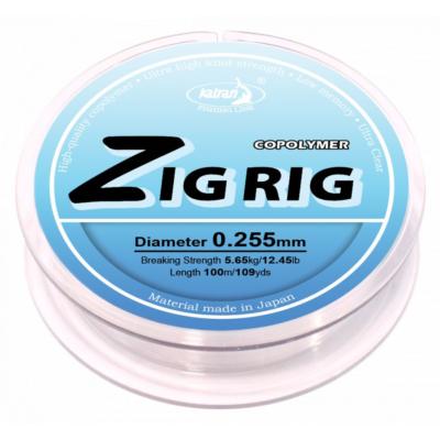 FISHING LINE ZIG RIG 100M 0,255MM
