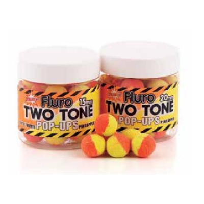 DYNAMITE BAITS FLUORO POP-UPS TWO-TONE 20MM