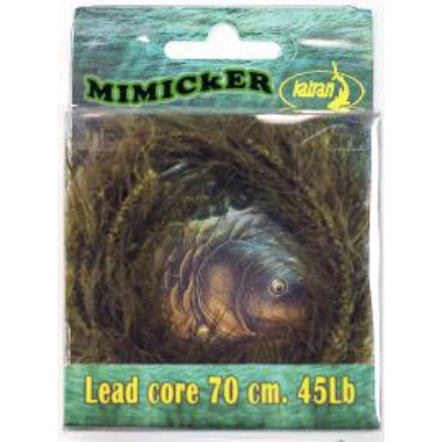 KATRAN MIMCKER ALGAE BRAIDED HOOK LINKS 25 LB 10 M