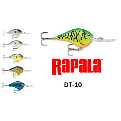 RAPALA DIVES-TO SWIMMING DEPTH OF 10FT WOBBLEREK