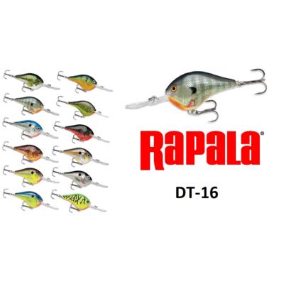 RAPALA DIVES-TO SWIMMING DEPT OF 16 FEET WOBBLEREK