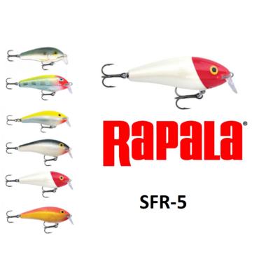 RAPALA FAT RAP SHALLOW RUNNER SFR-5 WOBBLEREK 5CM