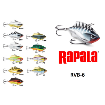 RAPALA RAP-V SERIES BLADE WOBBLEREK RVB06 6CM