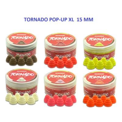 HALDORÁDÓ TORNADO POP UP XL CSALIK 15 MM