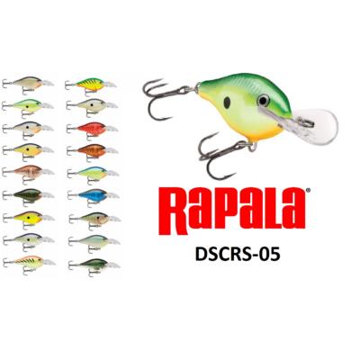RAPALA DSCRC05 SCATTER RAP CRANK DEEP WOBBLEREK