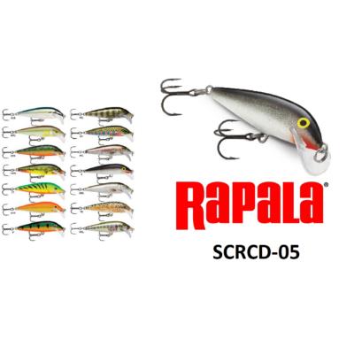 RAPALA SCRCD05 SCATTER RAP COUNTDOWN WOBBLEREK