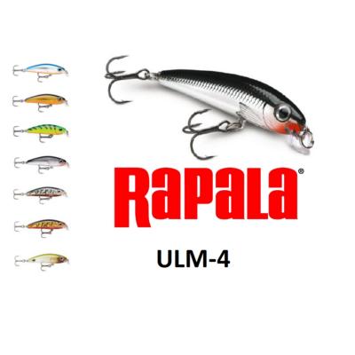 RAPALA ULTRA LIGHT MINNOW ULM-4 WOBBLEREK 4CM