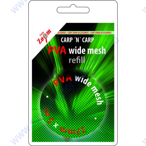 CARP ZOOM PVA WIDE MESH 37MMX5M