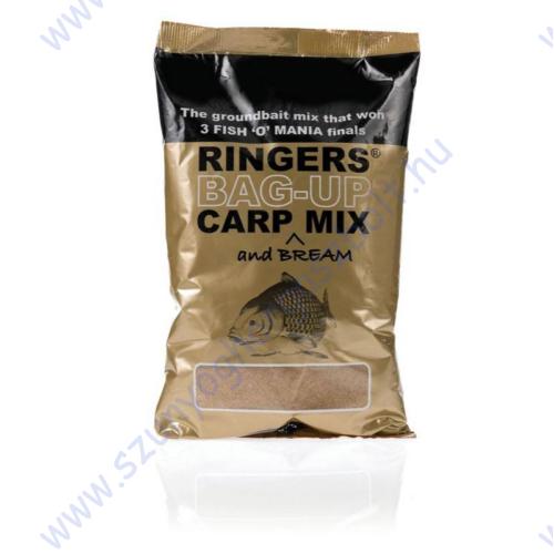 RINGERS BAG UP CARP MIX 1KG