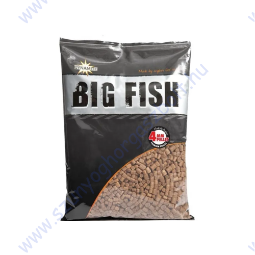 DYNAMITE BAITS BIG FISH PELLETS 4MM 1.8KG