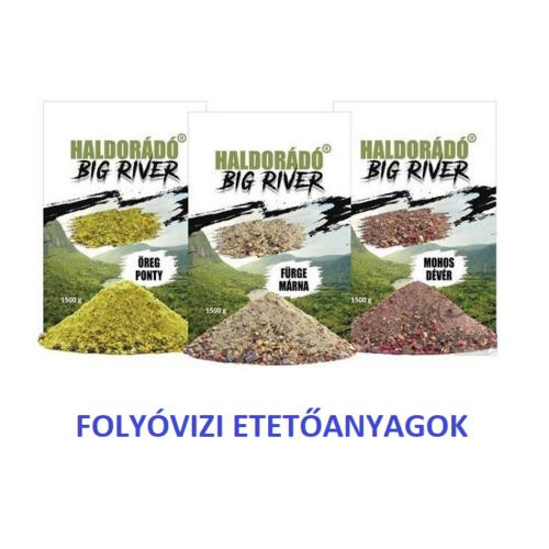 HALDORÁDÓ BIG RIVER ETETŐANYAGOK