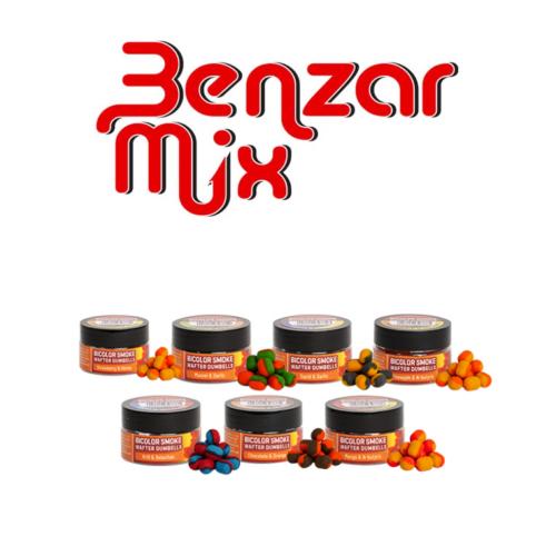 BENZAR MIX BICOLOR SMOKE WAFTER CSALIK 10*8MM